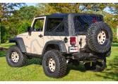 Miękki dach XHD black diamond 07-09 Jeep Wrangler JK