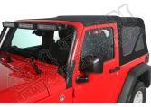 Plandeka winylowa, Black Diamond, 10-15 Jeep Wrangler 2-Drzwiowy
