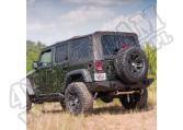 Miękki dach XHD czarny 07-12 Wrangler 4 drzw.
