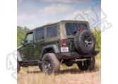 Miękki dach khaki 07-09 Jeep Wrangler Unlimited JK