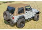 Miękki dach XHD, spice, 97-06 Jeep Wrangler (TJ)