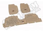 Zestaw dywaników, jasny brąz (tan), 07-13 Jeep Wrangler Unlimited (JK)