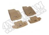 Zestaw dywaników, jasny brąz (tan), 07-15 Jeep Wrangler (JK) 2 drzw.