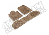 Zestaw dywaników, jasny brąz (tan), 12-14 Jeep Grand Cherokee (WK)