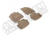Zestaw dywaników, jasny brąz (tan), 07-14 Compass/Patriot (MK)
