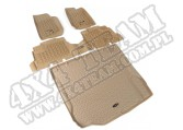Zestaw dywaników, jasny brąz (tan), 07-10 Jeep Wrangler (JK) 4 drzw.