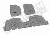 Zestaw dywaników, szary, 07-13 Jeep Wrangler Unllimited (JK)