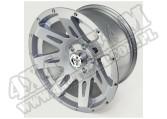 """Felga aluminiowa XHD 17x9"""" 5x5 srebrna"""