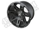 """Felga aluminiowa XHD 18x9"""" 5x5 black satin"""