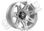 "Felga aluminiowa 18x9"" 5x5 srebrna 07-15 Jeep Wrangler JK"