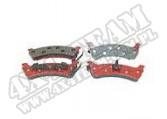 Klocki hamulcowe tylne Titanium 95-98 Jeep Grand Cherokee ZJ