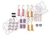 Zestaw sprężyn i mocowań szczęk ham. 78-89 Jeep CJ/Wrangler