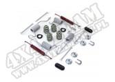Zestaw sprężyn i mocowań szczęk ham. 90-06 Jeep Cherokee XJ