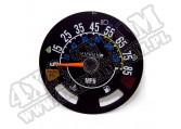 Zegar prędkościomierza 5-85 MPH 80-86 Jeep CJ