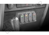 Konsola dolna pod przełączniki 07-10 Jeep Wrangler JK