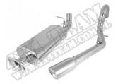 Układ wydechowy końcowy 04-06 Jeep Wrangler Unlimited LJ