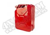 Kanister stalowy czerwony, 20L