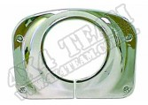 Steering Column Cover, Chrome; 76-86 Jeep CJ