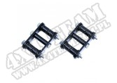Suspension Leaf Spring Shackle Kit, Front, HD, Greaseable; 76-86 CJ