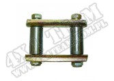 Suspension Leaf Spring Shackle Kit; 55-75 Jeep CJ5/CJ6