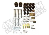 Suspension Body Lift Kit, 3 Inch; 97-06 Jeep Wrangler TJ