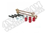 Suspension Stabilizer Bar Link Kit, Rear, 2.5 Inch Lift; 07-18 Jeep JK