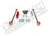 Suspension Stabilizer Bar Link Kit, Rear, 4 Inch Lift; 07-18 Jeep JK