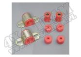 Suspension Stabilizer Bar Bushing Kit, Front, Red, 25mm; 84-01 XJ