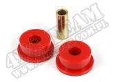 Suspension Track Bar Bushing, Front, Red; 84-01 Jeep Cherokee XJ