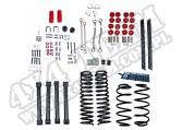 Suspension Lift Kit, 4 Inch, No Shocks; 03-06 Jeep Wrangler TJ