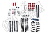 Suspension Lift Kit, 4 Inch, No Shocks; 04-06 Wrangler Unlimited LJ