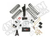 Suspension Lift Kit, 2.5 Inch, No Shocks; 07-18 Jeep Wrangler JK