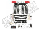 Suspension Lift Kit, 4 Inch, No Shocks; 07-18 Jeep Wrangler JK