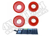Suspension Coil Spring Spacer Kit, 2 Inch Lift; 99-04 Grand Cherokee