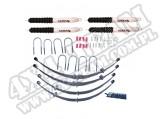 Suspension Lift Kit, 4 Inch, Shocks; 55-75 Jeep CJ5/CJ6