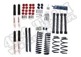Suspension Lift Kit, 2 Inch, Shocks; 03-06 Jeep Wrangler TJ