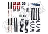 Suspension Lift Kit, 2 Inch, Shocks; 04-06 Jeep Wrangler Unlimited LJ