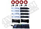 Suspension Coil Spring Spacer Kit, 2 Inch Lift, Shocks; 97-06 Wrangler