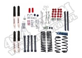 Suspension Lift Kit, 4 Inch, Shocks; 03-06 Jeep Wrangler TJ