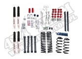 Suspension Lift Kit, 4 Inch, Shocks; 04-06 Jeep Wrangler Unlimited LJ