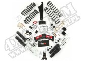 Suspension Lift Kit, 2.5 Inch, Shocks; 07-18 Jeep Wrangler JK