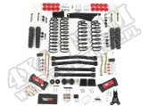 4 Inch Lift Kit with Shocks; 07-16 Jeep Wrangler JK
