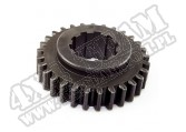 Transmission Gear, 1st, T90; 46-71 Willys/Jeep