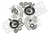Ring and Pinion Kit, 4.10 Ratio; 07-16 Wrangler JK, for Dana 30/44
