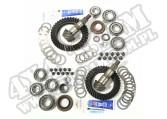 Ring and Pinion Kit, 4.56 Ratio; 07-18 Jeep Wrangler, for Dana 30/44