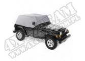 Osłona kabiny Charcoal 92-95 Jeep YJ Wrangler