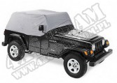 Cab Cover Charcoal 97-02 Jeep TJ Wrangler
