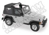 Flip Top plandeka Czarny Denim 97-02 Jeep TJ Wrangler