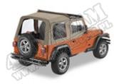 Flip Top plandeka ciemny Beż 97-02 Jeep TJ Wrangler