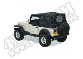 Plandeka Replace-A-Top Czarny Denim 88-95 Jeep YJ Wrangler